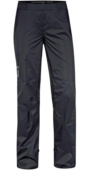 VAUDE W's Spray Pants III Black